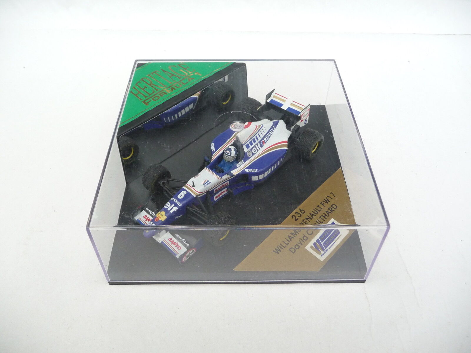 Onyx 1 43 Williams Renault FW17 Coulthard 236