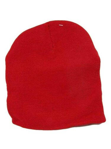 "8/"" Red OES Mason Masonic Eastern Star Embroidered Beanie Skull Cap WIN964 TOPW"