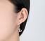Orecchini-Donna-Pendenti-Colorati-Stras-Luce-Cuore-Doppio-Paio-Coppia-Idea-Regal miniatura 7
