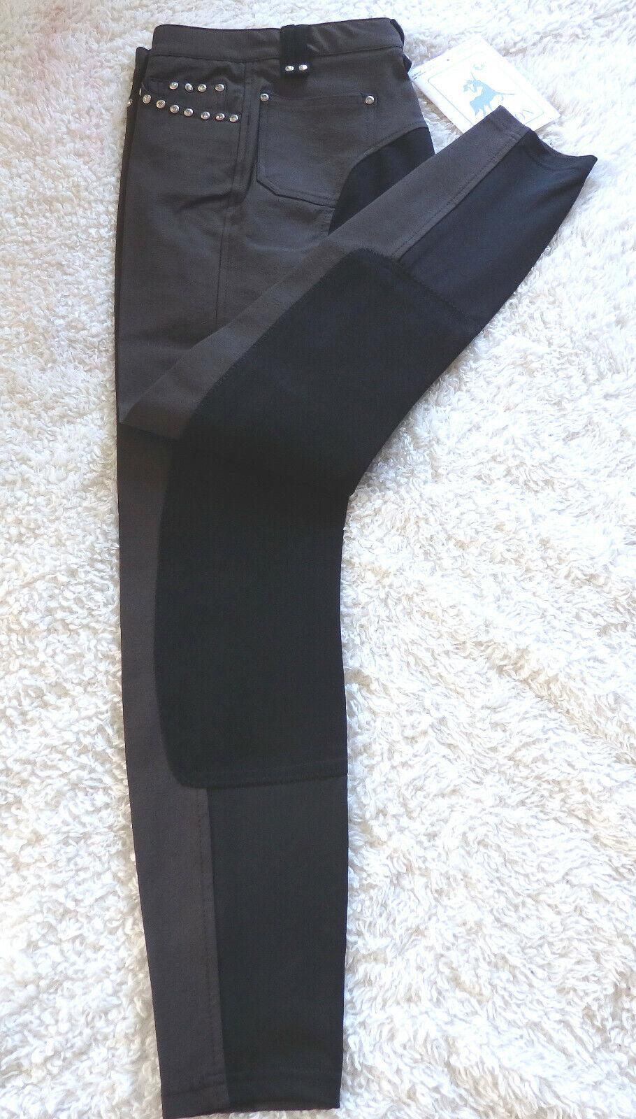 KYRON Donna Pantaloni Montala lexy6  G, guarnizione in pieno TG 84 Marronee, Glitzersteine 210