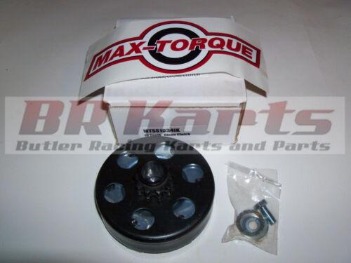 "10T #35 cart 3//4/"" Max Torque Box Stock//Clone Clutch for Go Kart Racing"