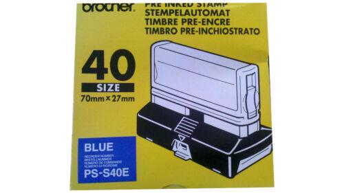 Farben  Stempelautomat inkl Stempelplatte Größen u STEMPEL Brother in versch