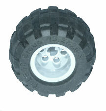 Missing Lego Brick 6579 Black Tyre 43.2 x 28 Balloon Small & 6580 MdStone Wheel