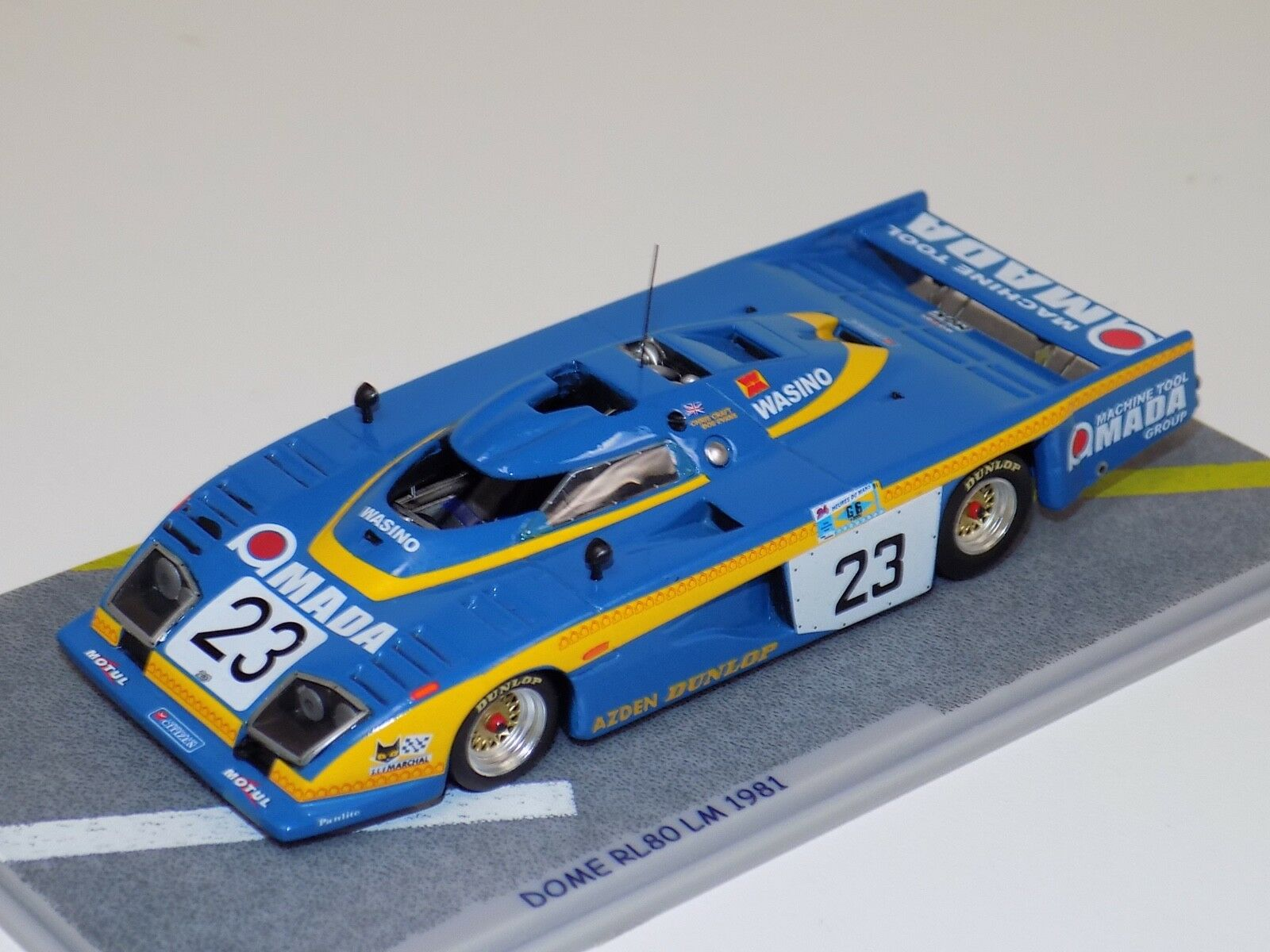 1 43 Bizarre DOME RL80 Car Hours of LeMans  BZ09