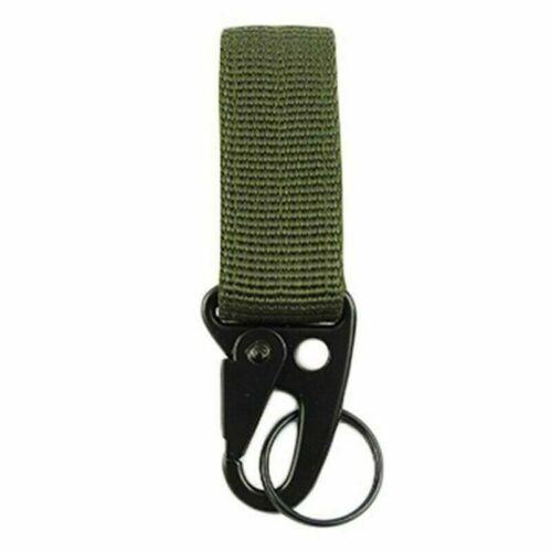Outdoor Training Military Belt Buckles Hunting Lock Equipment Carabiner Nylon