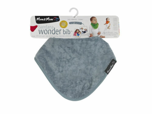 New Super Absorbent Baby Bandana WONDER BIB *GREY*