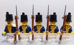 Lego-PIRATES-NAPOLEONIC-WARS-POLISH-LEGION-Infantry-Soldiers-MINIFIGS