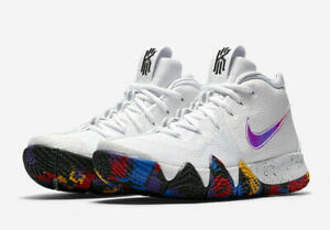 on sale 9cbaa f7080 Nike Kyrie 4 IV March Madness Mens 8.5 13 NCAA White Red ...