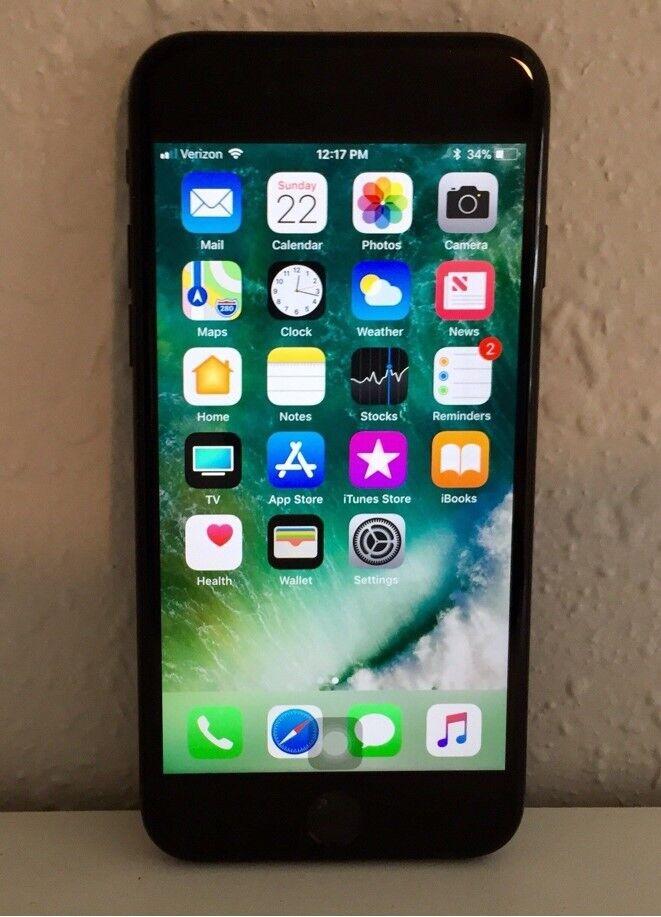 Apple iPhone 7 – 128GB – Black (Unlocked) Smartphone