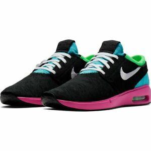 Detalles acerca de Para hombres Nike Sb Janoski Zapatos Air Max  2-Negro/blanco/antracita-tamaños 9-12- mostrar título original