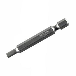 4.0mm x 50mm Wiha 74340 Hex Metric Power Bit 10 pieces