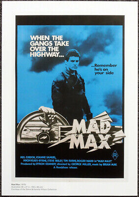 Mad Max Movie Miller Mel Gibson Panoramic Giant Wall Art Poster Print