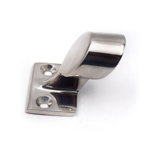 """1Peice 316 Stainless Steel Boat After End Stanchion 60° Hand Rail Fitting 7//8/"""""""