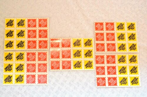 VTG 1987 Win By A Nose Board Game Replacement Parts Pieces Stickers Die Cones