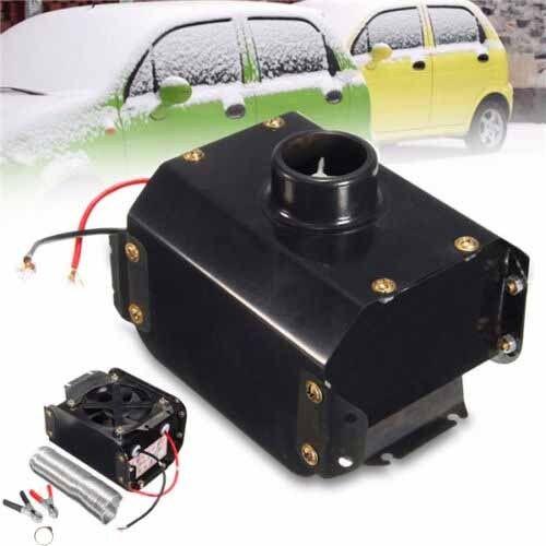 Hot 12V 300W Aluminum Iron Car Heater Fan Heating Tungsten Defroster Demister US