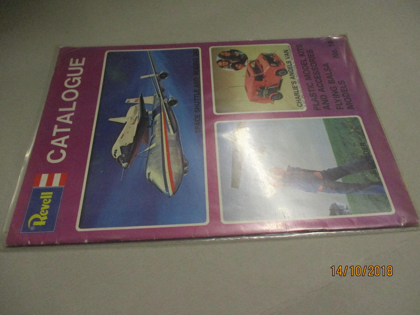 Revell Modèle Kits catalogue 1977 UK