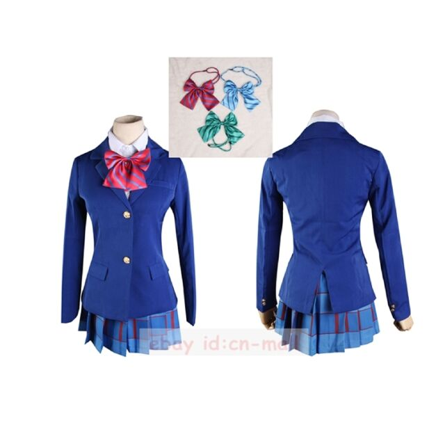 Love Live! Otonokizaka Academy Girls' School Uniform Cosplay Costume