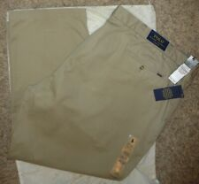 NEW Polo Ralph Lauren lassic Fit Hudson Tan Chino Pants Men/'s Sz-48BX32 44XBx30
