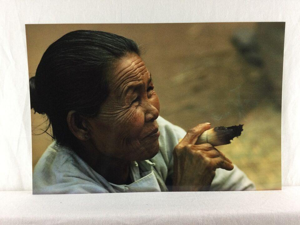Fotokunst , Mogens G Stryhn, motiv: Fra Burma