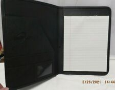 Portfolio Leather Professional Binder Folder Business Notepad Document Holder