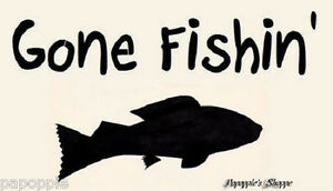 Sign-Stencil-Gone-Fishin-039-FISH-Fathers-Day