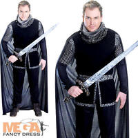 Sheriff Of Nottingham Mens Fancy Dress Medieval Knight Tudor Adults Costume