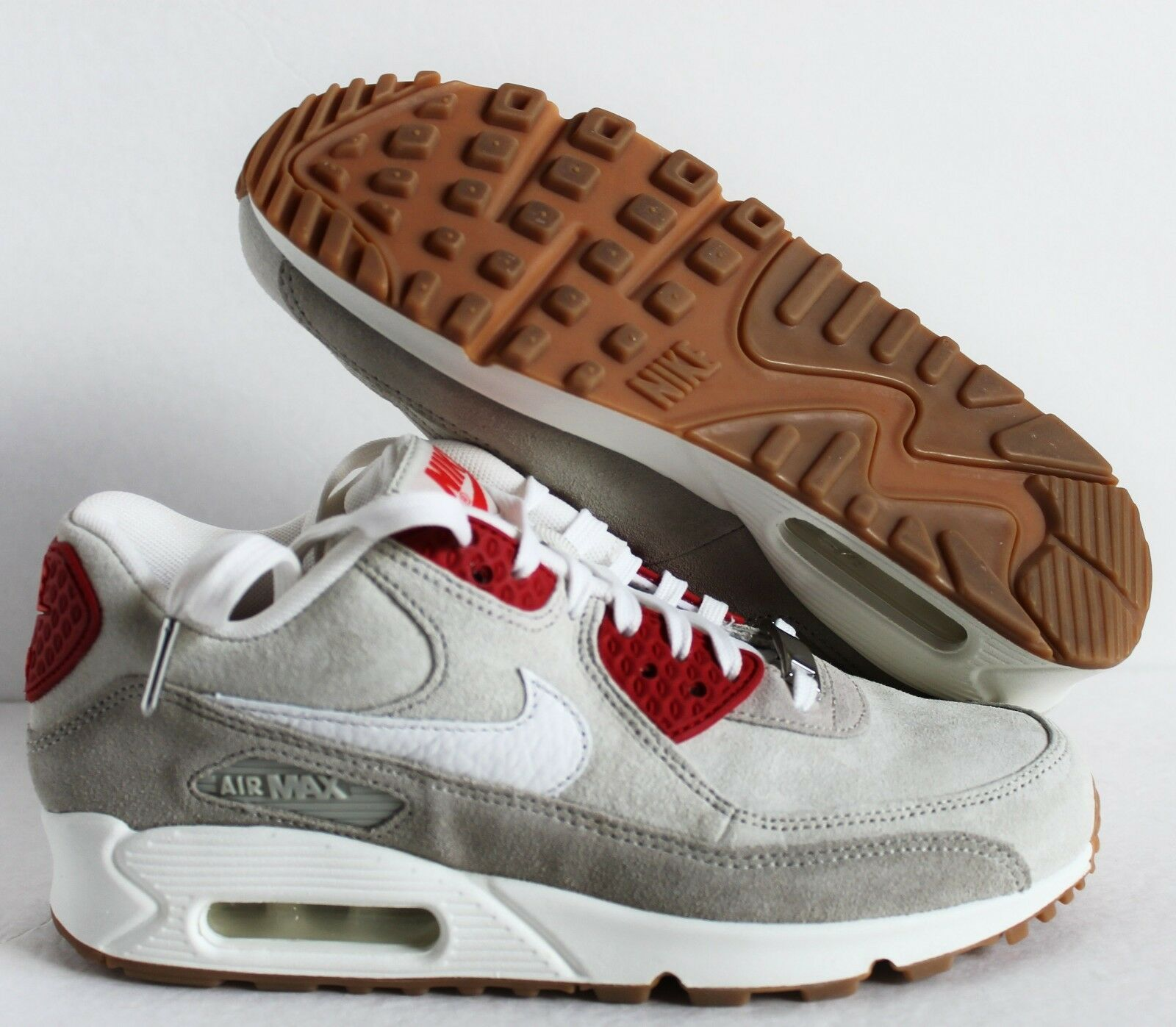 NIKE WMNS AIR MAX 90 QS BEIGE-SUMMIT WHITE