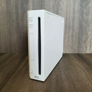 Nintendo Wii Replacement Console Only White RVL-001 GameCube Compatible TESTED