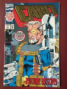 Cable #1 Issue Collectors Item Embossed Cover 1st Comic 1993 Marvel Comics