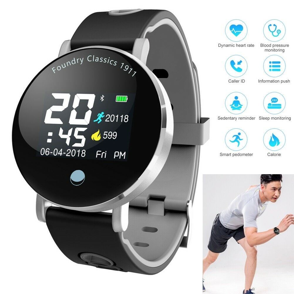 Bluetooth Smartwatch Blood Pressure Heart Rate Monitor Steps Calories Pedometer blood bluetooth calories Featured heart monitor pedometer pressure rate smartwatch steps