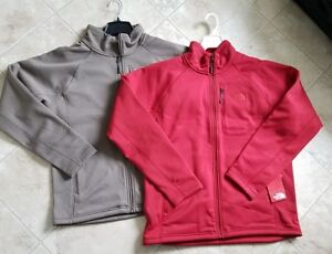 41051d77d Details about NEW The North Face Mens Timber Full Zip Jacket Falcon Brown  Cardinal Red Sz L/XL