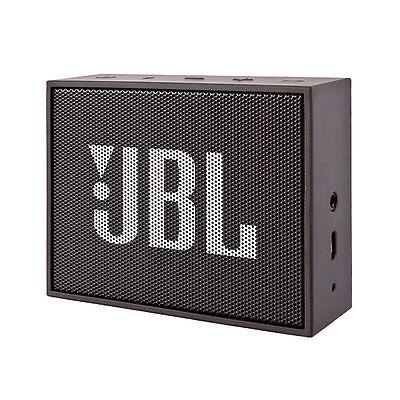 JBL Go Schwarz  Mobiler Lautsprecher Drahtloses Streaming via Bluetooth AUX