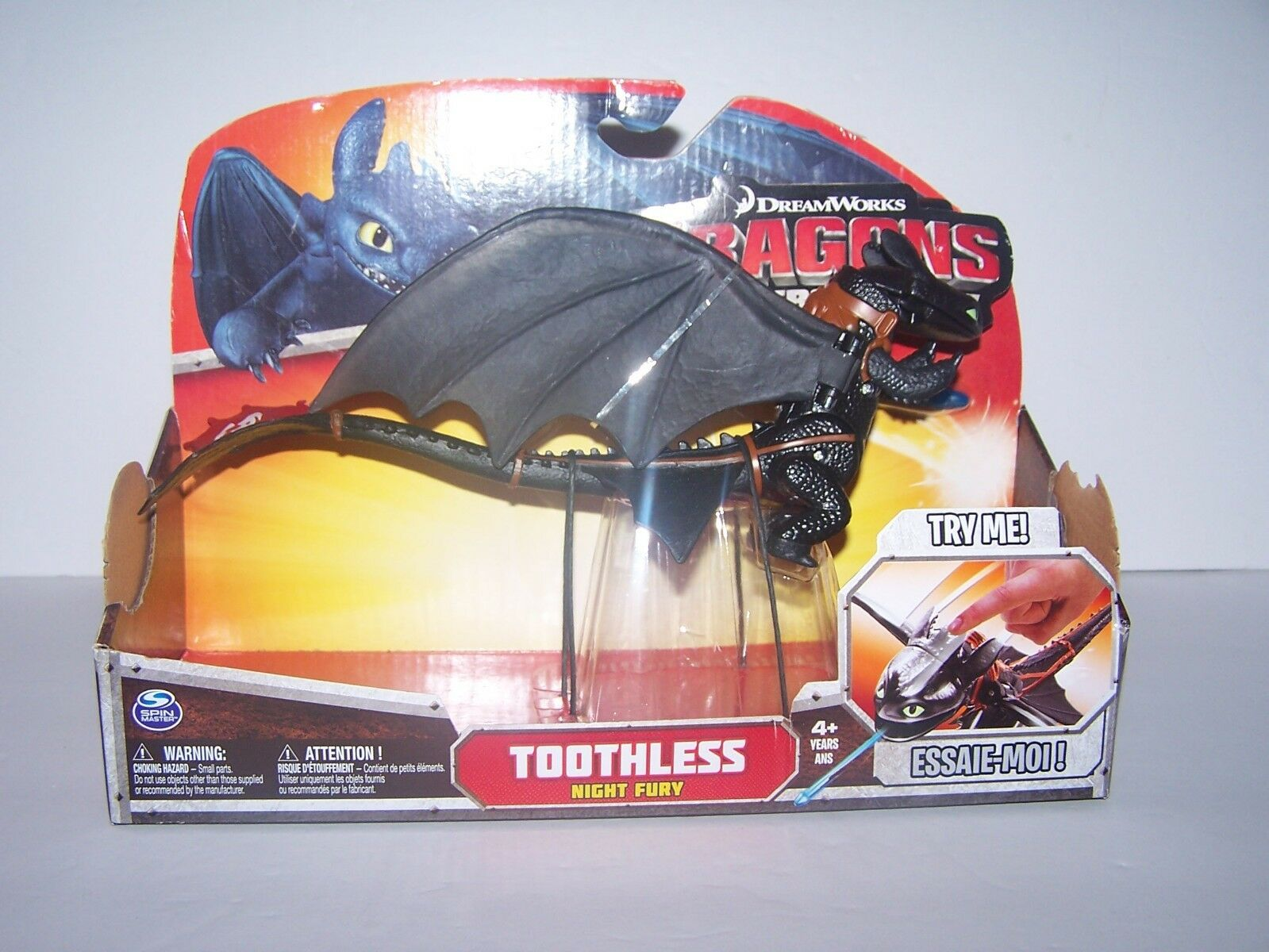 How To Train Dragons Defenders Of Berk Toothless Night Fury  10  cifra nuovo  punto vendita
