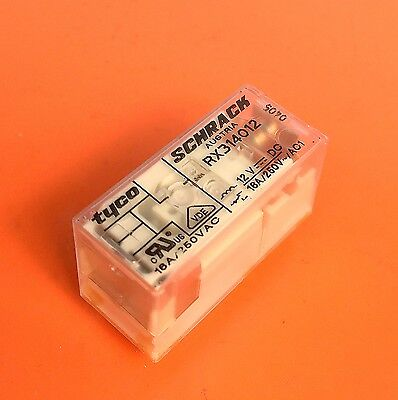 Power PCB Relay SPCO 24VDC 16A 250VAC 8 Pin SCHRACK TE RX314024