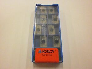 Korloy APMT 0903PDSR-MM PC5300 Indexable Carbide Inserts 10pc