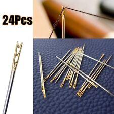 12~36x Self-Threading Sewing Needle Set Assorted Sizes DIY Thread Stitching Pins