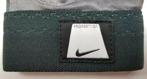 Nike Speedtack IV Leather Palm College Football Gloves Black//Grey 2XL//XXL PEEL