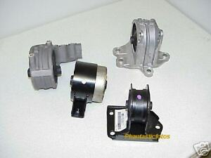 Motor Mount Set - 95 - 99 Eclipse Turbo with 5 Spd MT Genuine ...