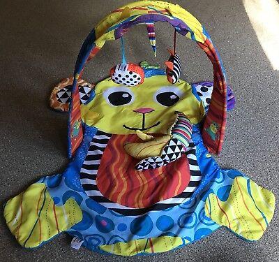 Lamaze Play Gym Mat Monkey Makai Banana Lion Tiger Zoo Mirror Bright