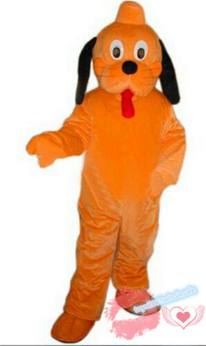 2019 New Parade Goofy /& Pluto Mascot Costume Adult Party Halloween Dress Cosplay