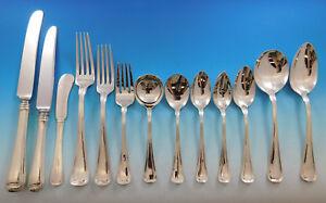 Old French By Gorham Sterling Silver Flatware Set Service 116 Pcs Dinner Huge Antiques
