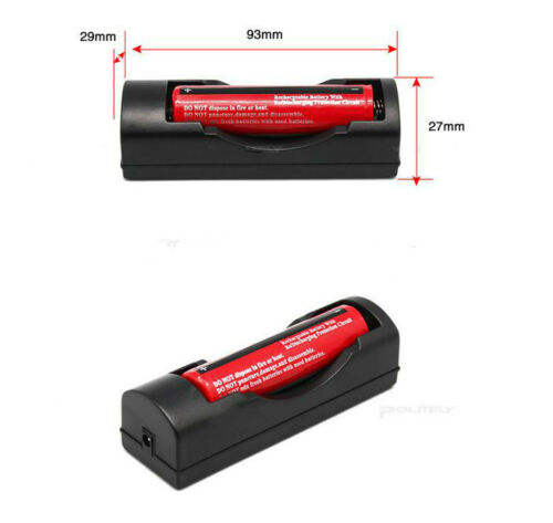 EU Universal Charger For 3.7V 18650 16340 14500 Li-ion Rechargeable Battery RS