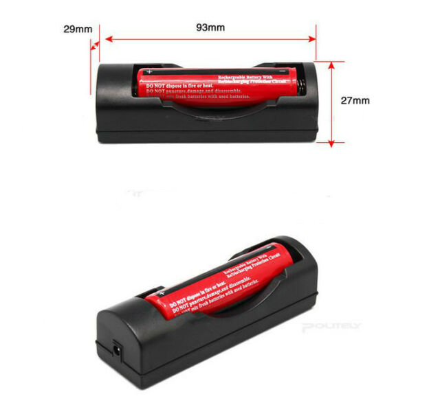 EU Universal Charger For 3.7V 18650 16340 14500 Li-ion Rechargeable Battery!W