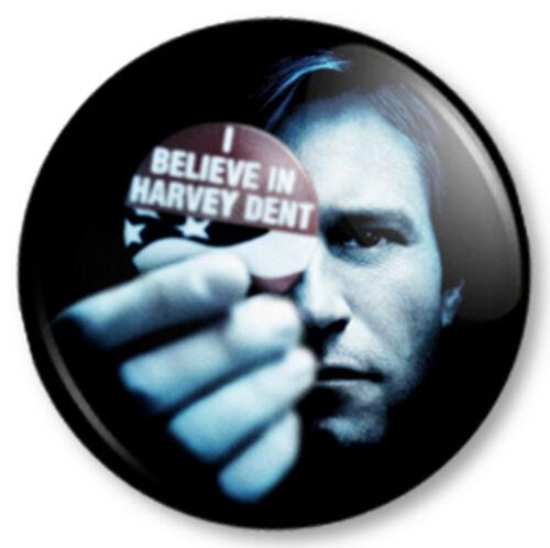 "Harvey Dent 25mm 1/"" Pin Button Badge Superhero Two Face Batman Comic Dark Knight"