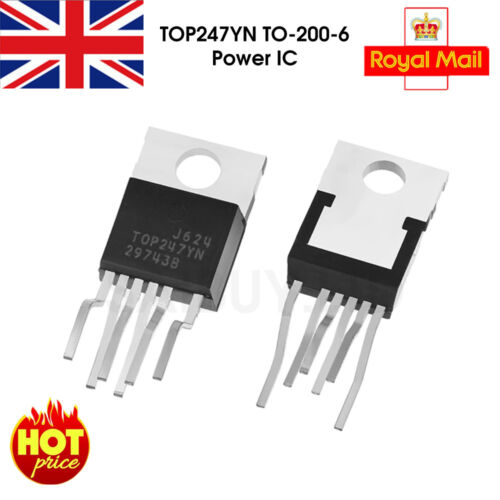 TOP247YN Power Management IC,Offline Switcher 6A 265Vac,T0-220-6