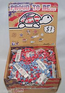 1,800 braclets of Trrtlz Turtle Bracelets, 4 different colors in Display Boxes