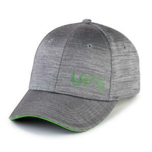 30e15522b6d21 NEW UPS MENS COLLECTIBLE UNITED PARCEL SERVICE SPACE DYE GREEN GREY ...
