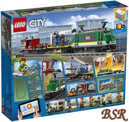 LEGO ® City Ferrovie € Spedizione /& NUOVO /& OVP! 60198 treno merci /& 0