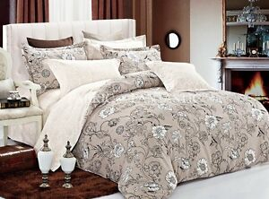 SHACHA-Queen-King-Super-King-Size-Bed-Duvet-Doona-Quilt-Cover-Set-New