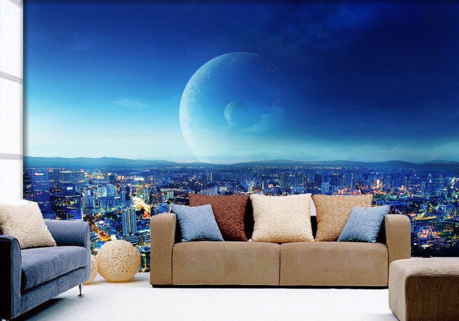 3D Himmel Stadt Natürlich 803 Tapete Wandgemälde Tapeten Bild Familie DE Lemon | Kaufen Sie beruhigt und glücklich spielen  | Zu einem erschwinglichen Preis  | Online Outlet Store